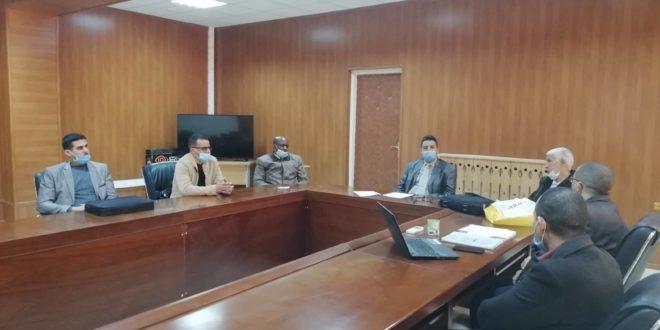 تنصيب اللجنة العلمية لقسم اللغة الأدب العربي